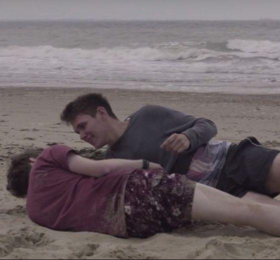 Sex am Strand Werbung