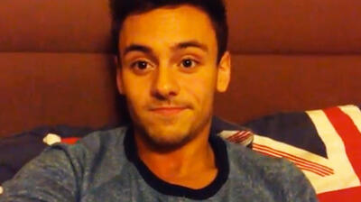 Tom Daley outet sich
