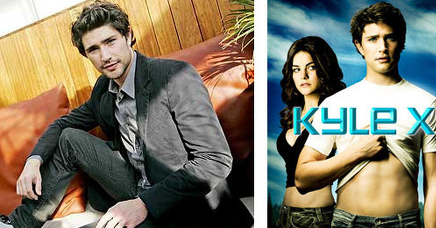 """Kyle XY""-Star outet sich"